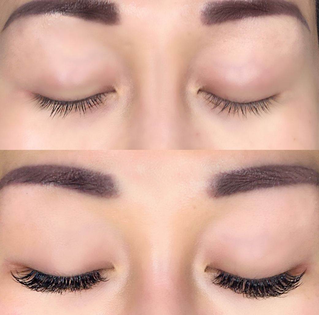 Volume Eyelash Extensions Before After The Scott Residence
