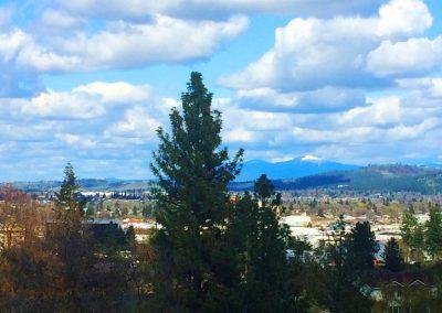 View of Spokane Washington